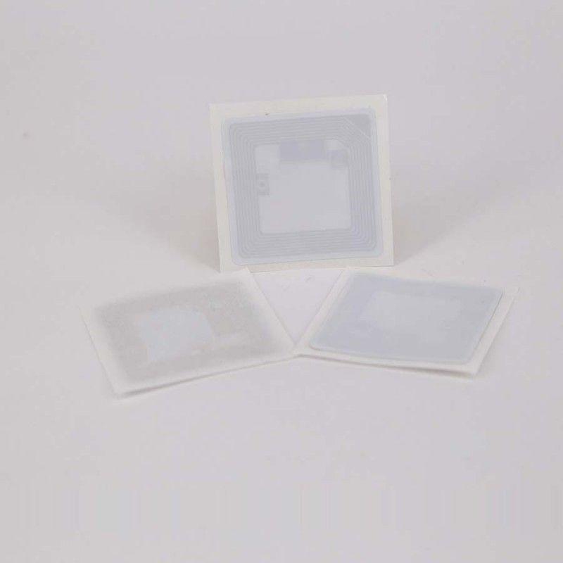 35x35m MF1C 1K S50 en blanco PVC etiqueta RFID