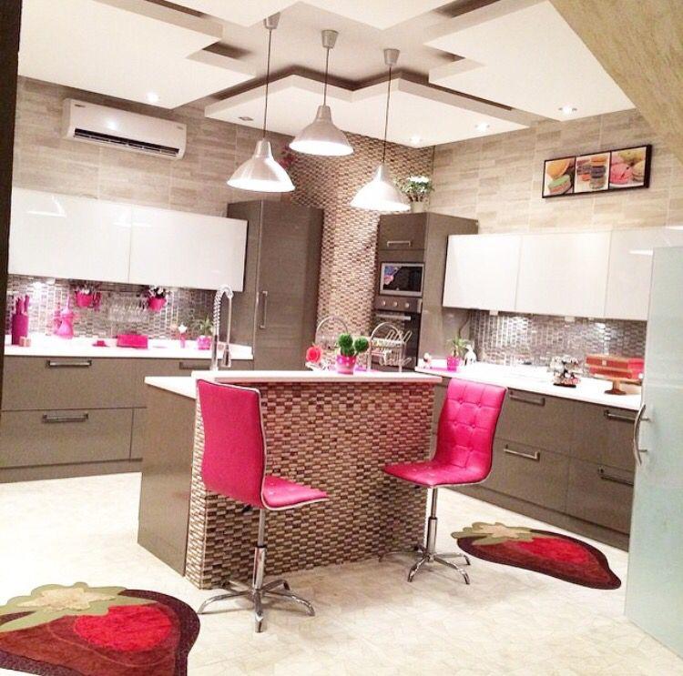 pin by 𝓜𝓪𝔂 𝓐 on нσмε sтүℓε home decor pink kitchen kitchen on kitchen decor pink id=96686