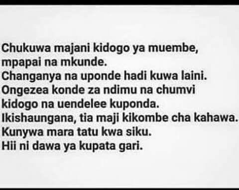 Maureen Muthuuri On Instagram Kiswahili Swahili Kenya Tanzania Swahili Quotes Tanzania
