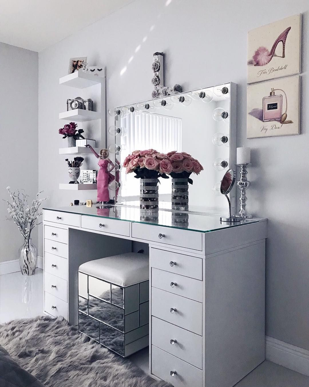 Chic Vanity Room Ideas Vanity Decor Bedroom Vanity Vanity Room