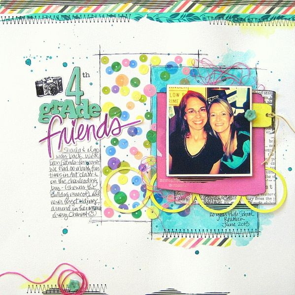 My Scraps and More Sketch #77 - Studio Calico Lemon Lush