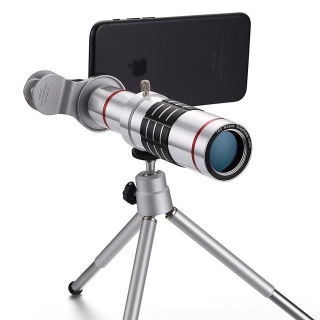 Phone Camera Lenses Professional 18x Zoom Optical Telescope