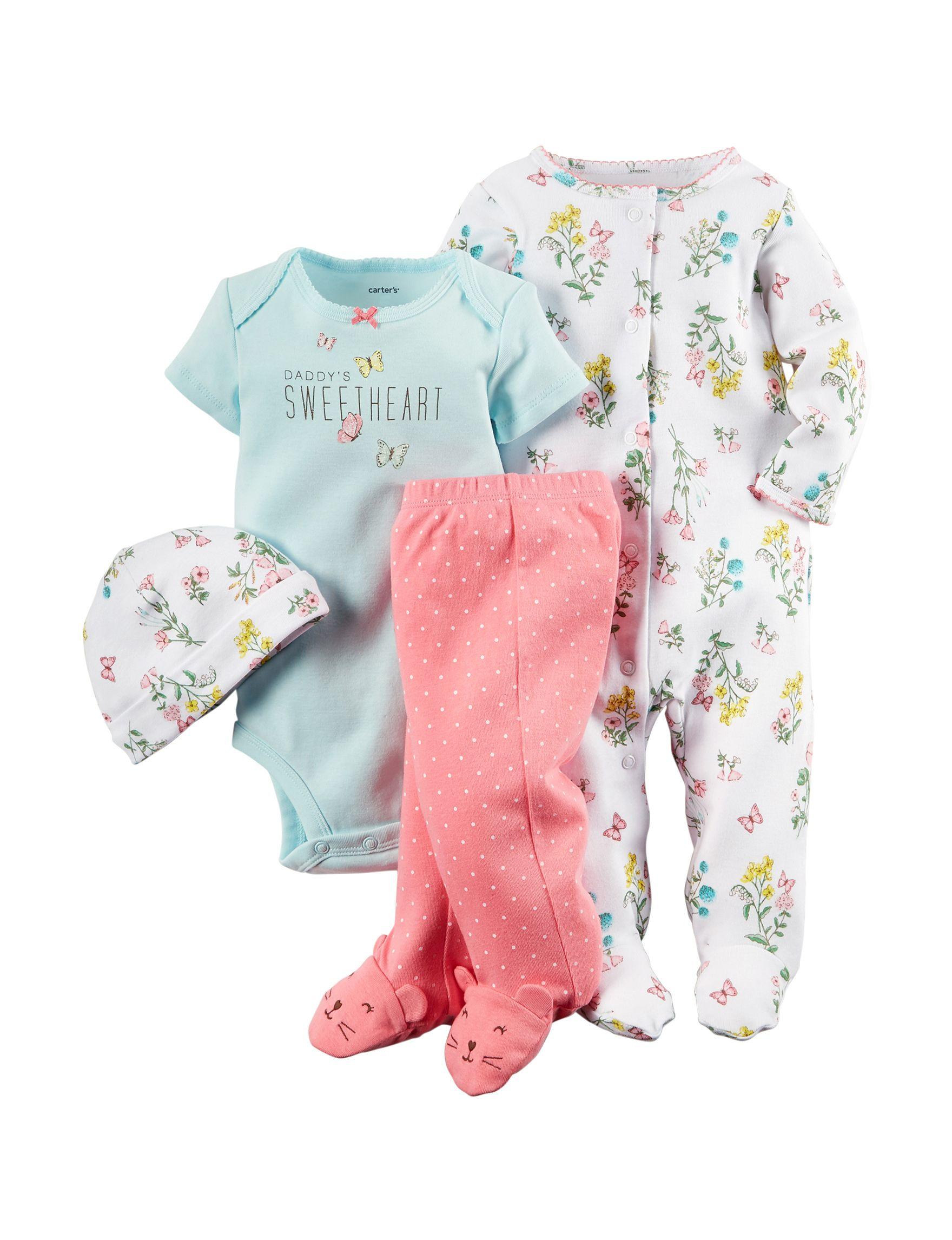 Carter's® 4-pc. Daddy's Sweetheart Bodysuit & Legging Set ...