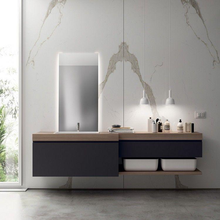 Modernes Bad Einrichtung Qi Kollektion Scavolini #bathroom #modern #ideas