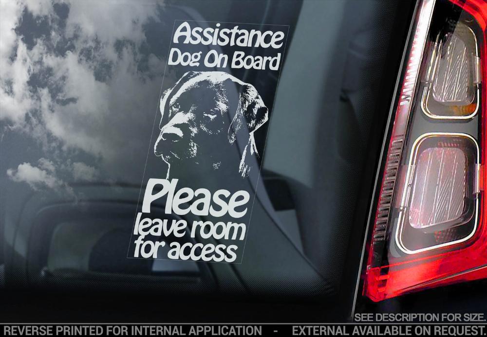 Bull Terrier on Board English Bully Dog Sign Decal Car Window Sticker V02