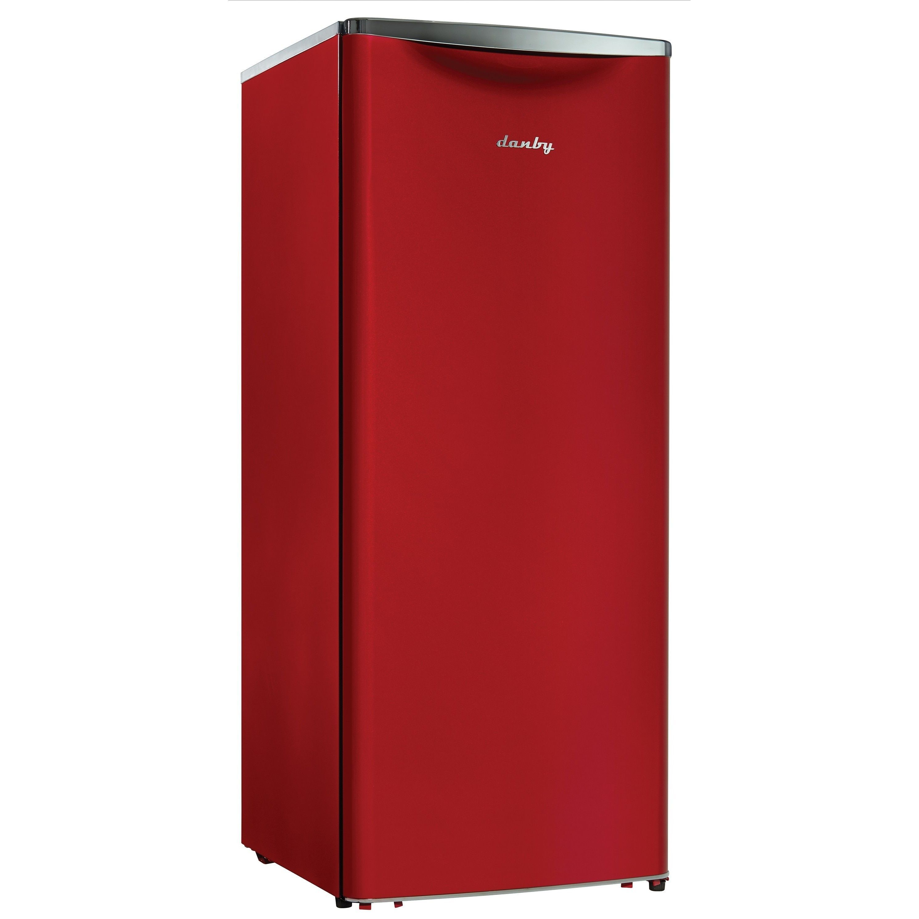 Danby DAR110A2LDB 11CF Apartment Size Refrigerator Red 11 Cu Ft