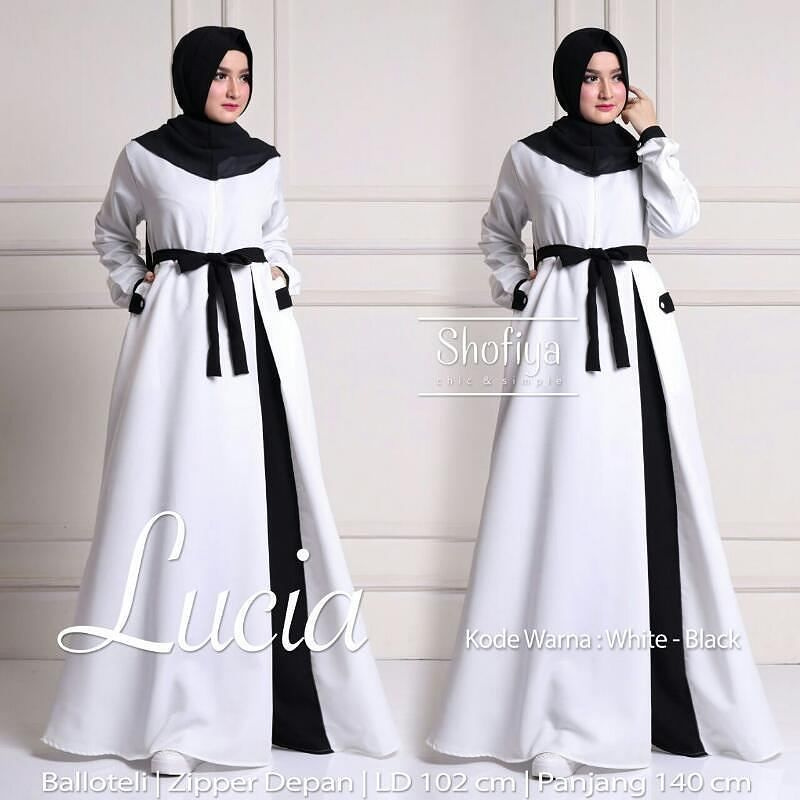 Lucia dress Detail Ada di picture. Shofiya Gamis Solo membuka kesempatan  untuk gabung menjadi reseller kami. Dapatkan penghasilan tak terbatas Info  n ... 692a024a22