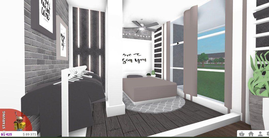 Noelle C On Twitter U0026quot Bloxburg Aesthetic Bedroom 20k