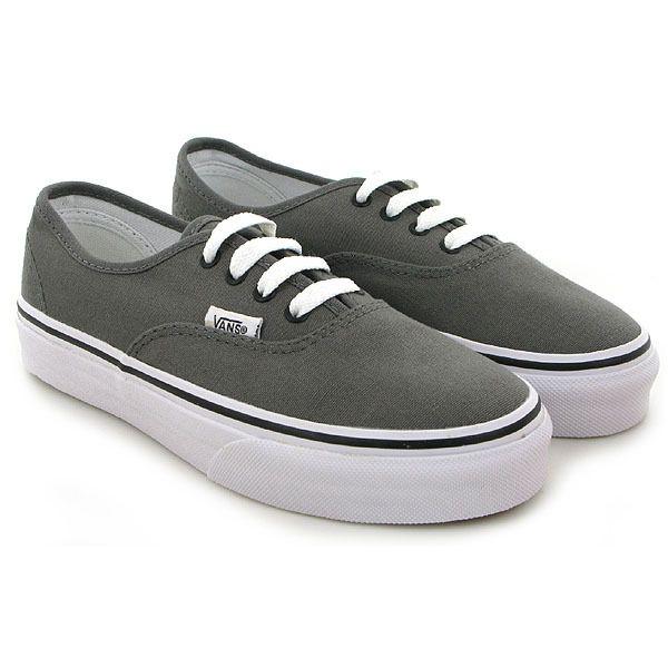 Chaussure Vans K AUTHENTIC gris 3699301 pour Enfant garcon | JEF ...
