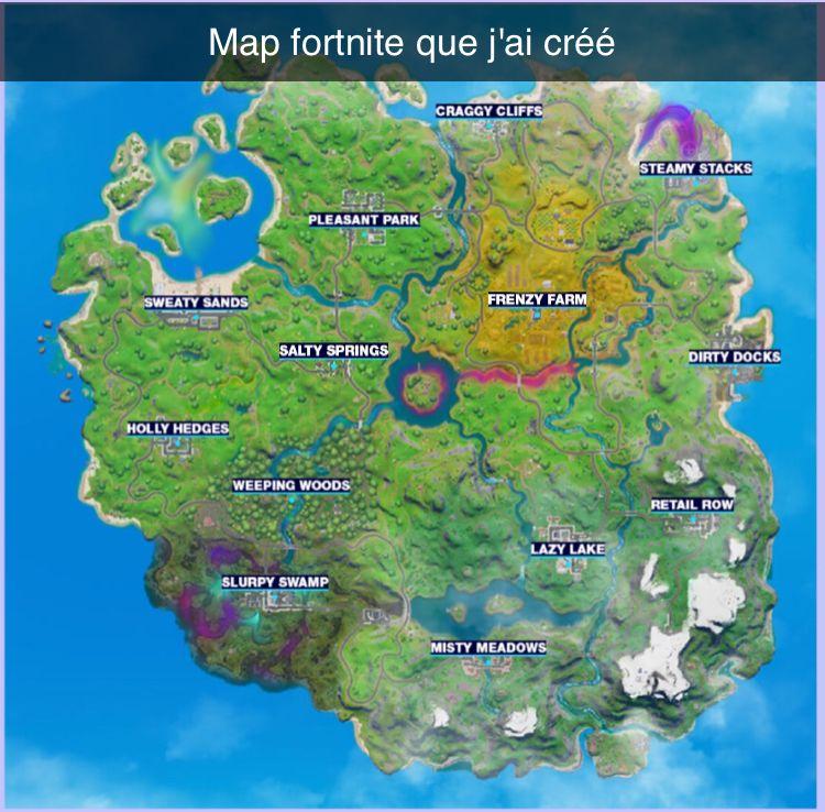 J Ai Cree Une Map Fortnite En 2020 Fond D Ecran Jeux Comment Dessiner Une Robe Fortnite