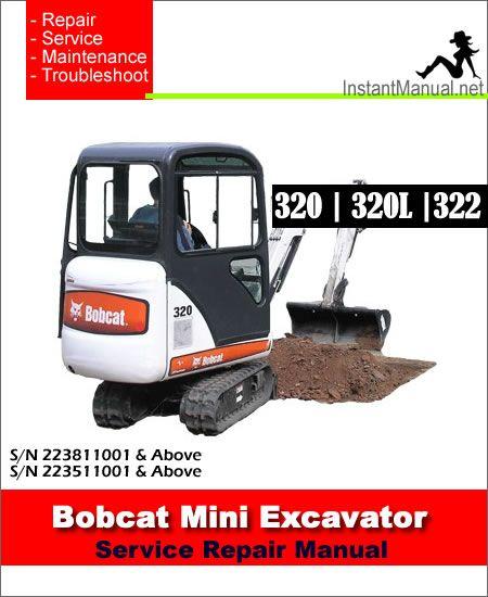 e96dc77ad04ad904dd912b0320a69186 bobcat service manual bobcat 322 mini excavator service manual Bobcat 325 Mini Excavator at panicattacktreatment.co