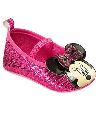 Minnie Mouse Baby Shoes, Baby Girls