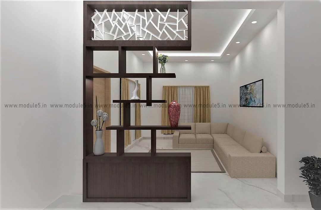 Drawing Room Is The Most Important Area Of The Home This Particular Drawing Room Is Designe Living Room Partition Design Living Room Partition Room Partition