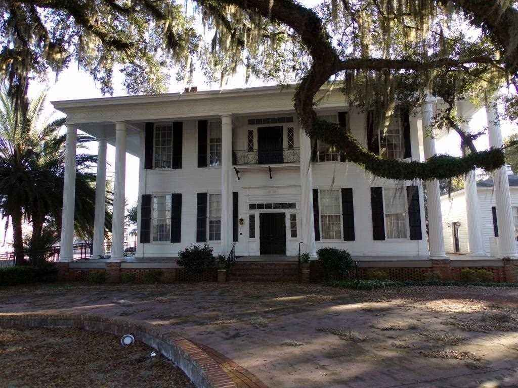 The WardlawSmith House, it is on the National Register of