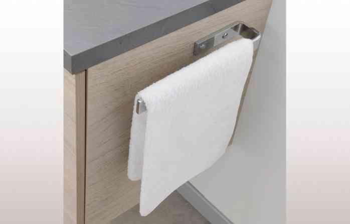 meuble salle de bain porte serviette