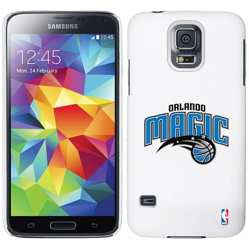 Orlando Magic Galaxy S5 Primary Logo Thinshield Case - White