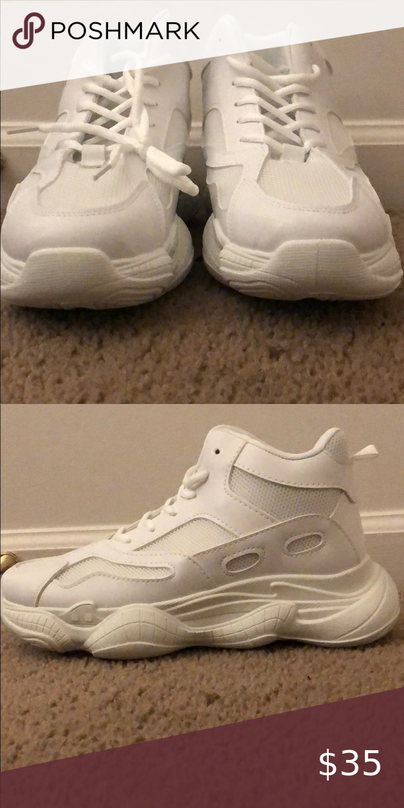 chunky trainers size 9