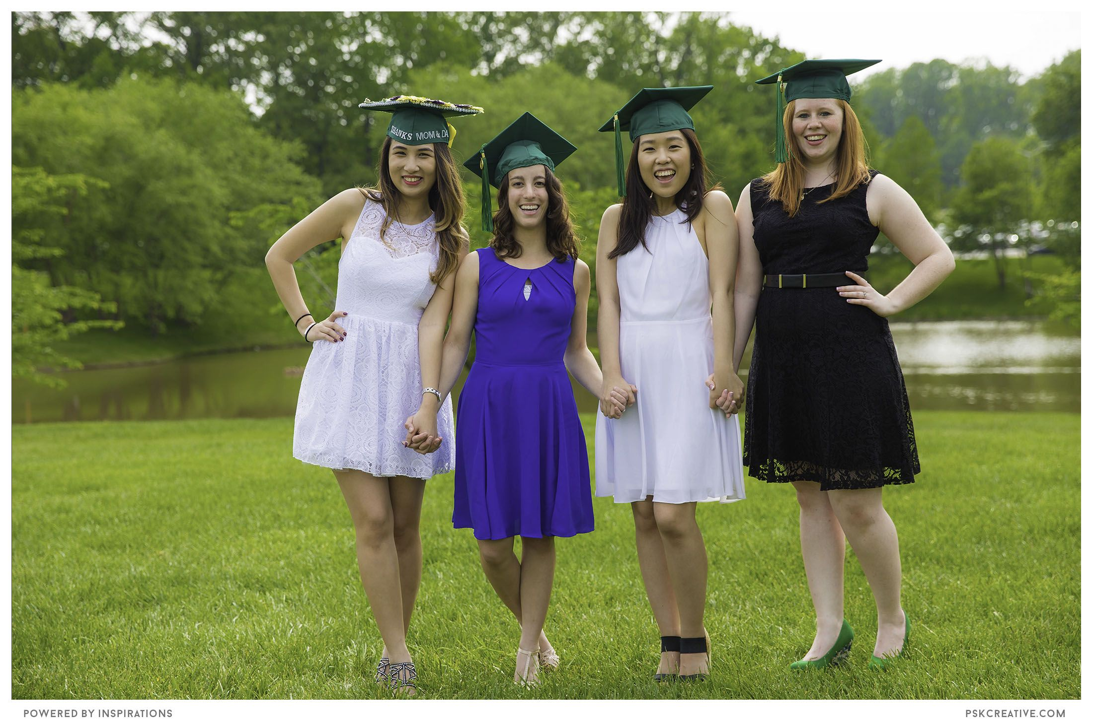 The friendship of the girls are captured throughout the school, as well as their four years of memories.