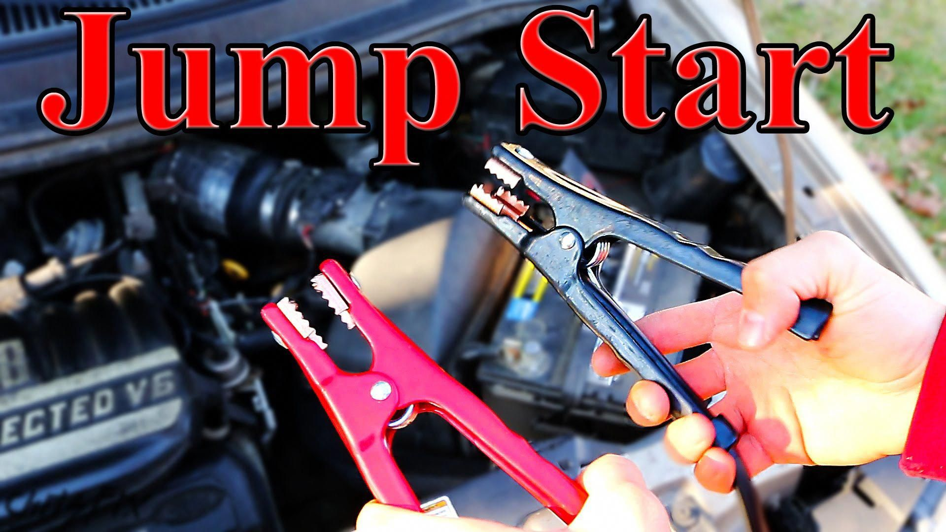 Jump start a Car. Anyone who drives should know how to