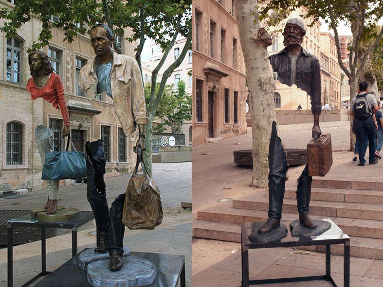 DetalleLogia: Esculturas singulares por el mundo