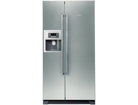 Amerikanische kühlschränke bosch  BOSCH Amerikanischer Kühlschrank Side by Side KAN58A75 | Kitchen ...