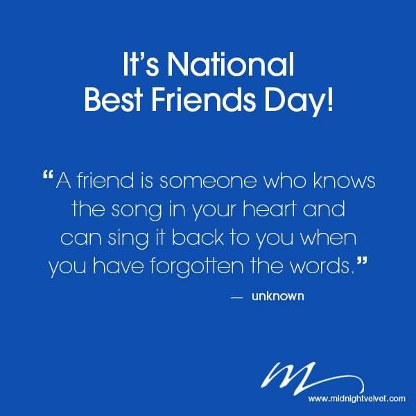 It S National Best Friends Day Wishes Best Friends Day Quotes