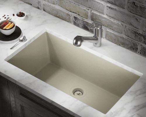 Kitchen Sink Solera Granite Composite Undermount Single Bowl