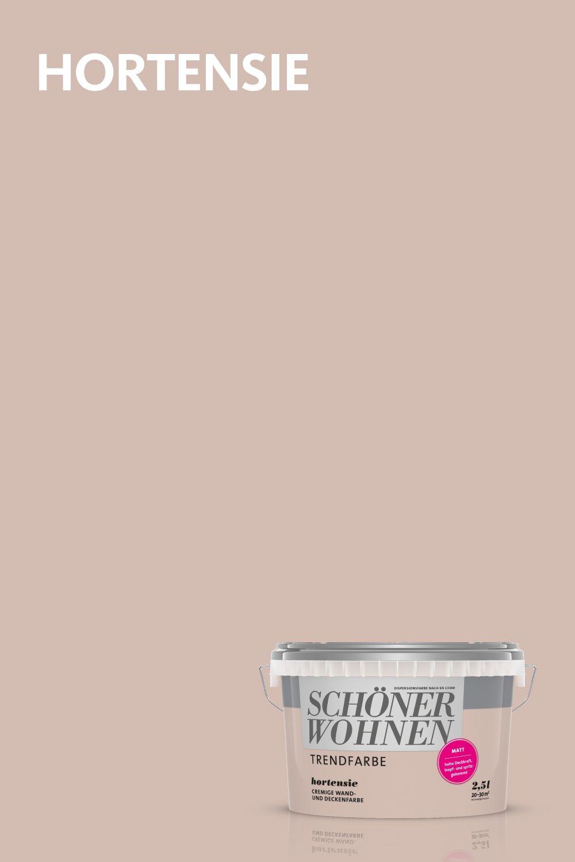 Trendfarbe Hortensie Schoner Wohnen Farbe Schoner Wohnen Wandfarbe Wandfarben Ideen