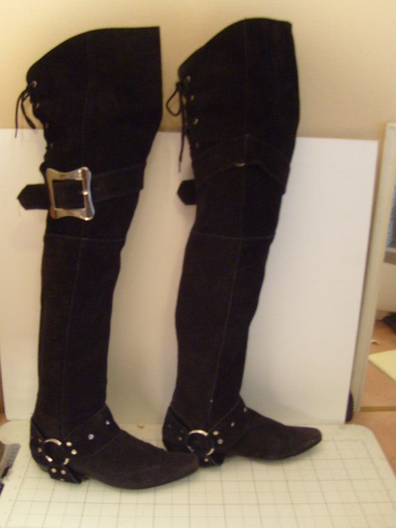 23c70def9cc00 SALE Ends 4/15 Perfect Pirate Boots Vintage 1980s by FairyEmpire ...