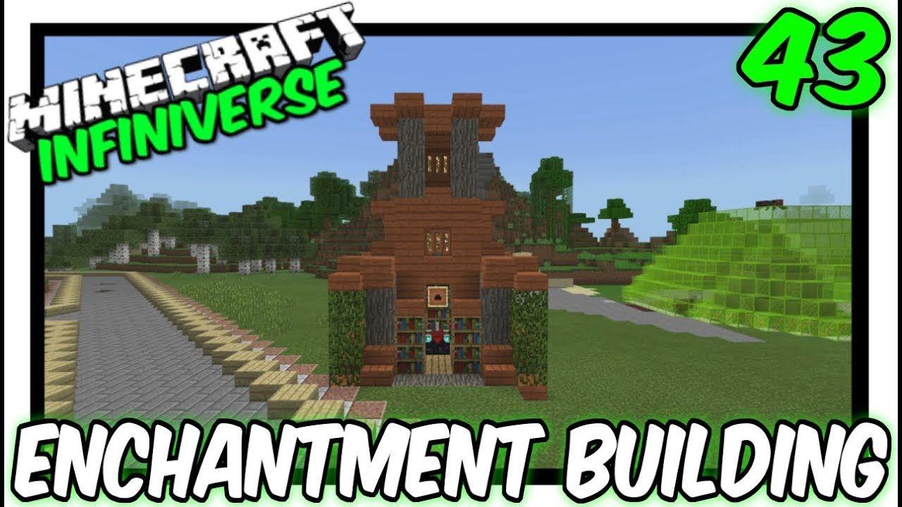 Enchantment Building 43 Minecraft Bedrock Infiniverse Minecraft