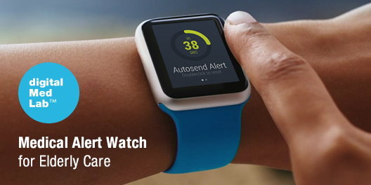 """""""Medical Alert Watch for Elderly Care"""" by http"""