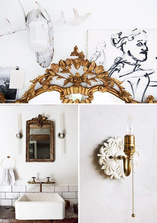 a little bit baroque. | Baroque decor, Beach house ...