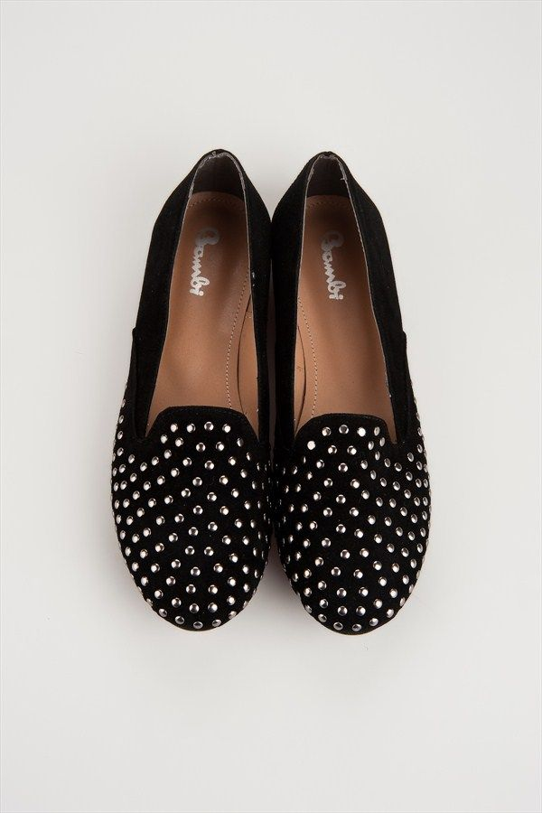 Black Studded Loafers by Bambi @Trendyol