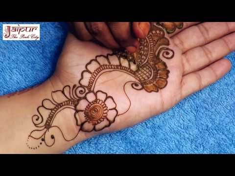 Arabic Mehndi Designs Simple Latest Arabic Henna For Hands Easy