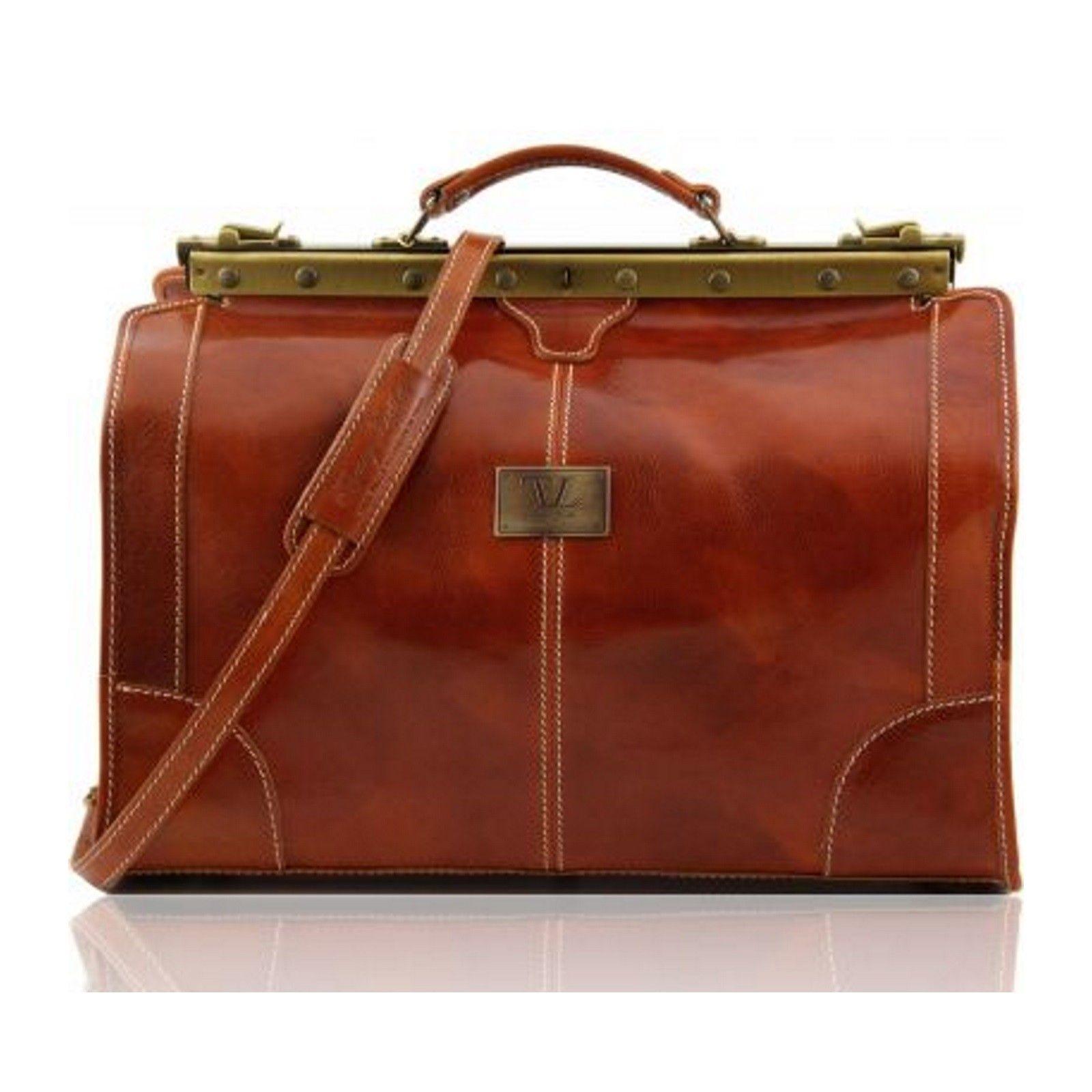 Tuscany Leather Madrid Large Gladstone Bag