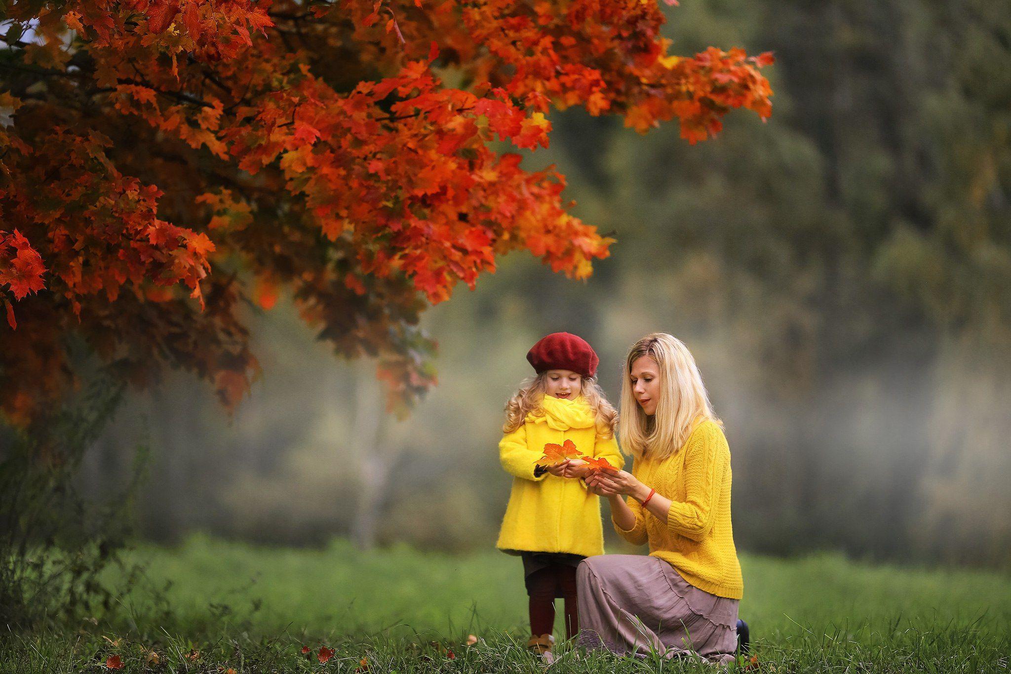 ценный идеи осенней фотосессии с детьми на улице достаточно часто