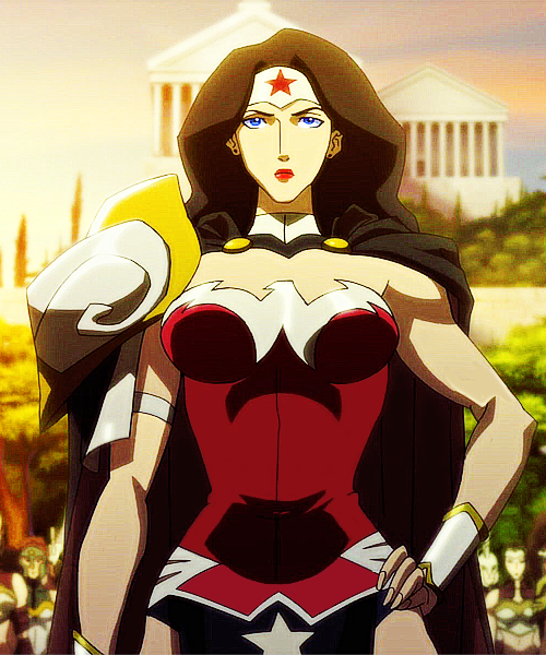 Wonder Woman from Justice League Flashpoint animated