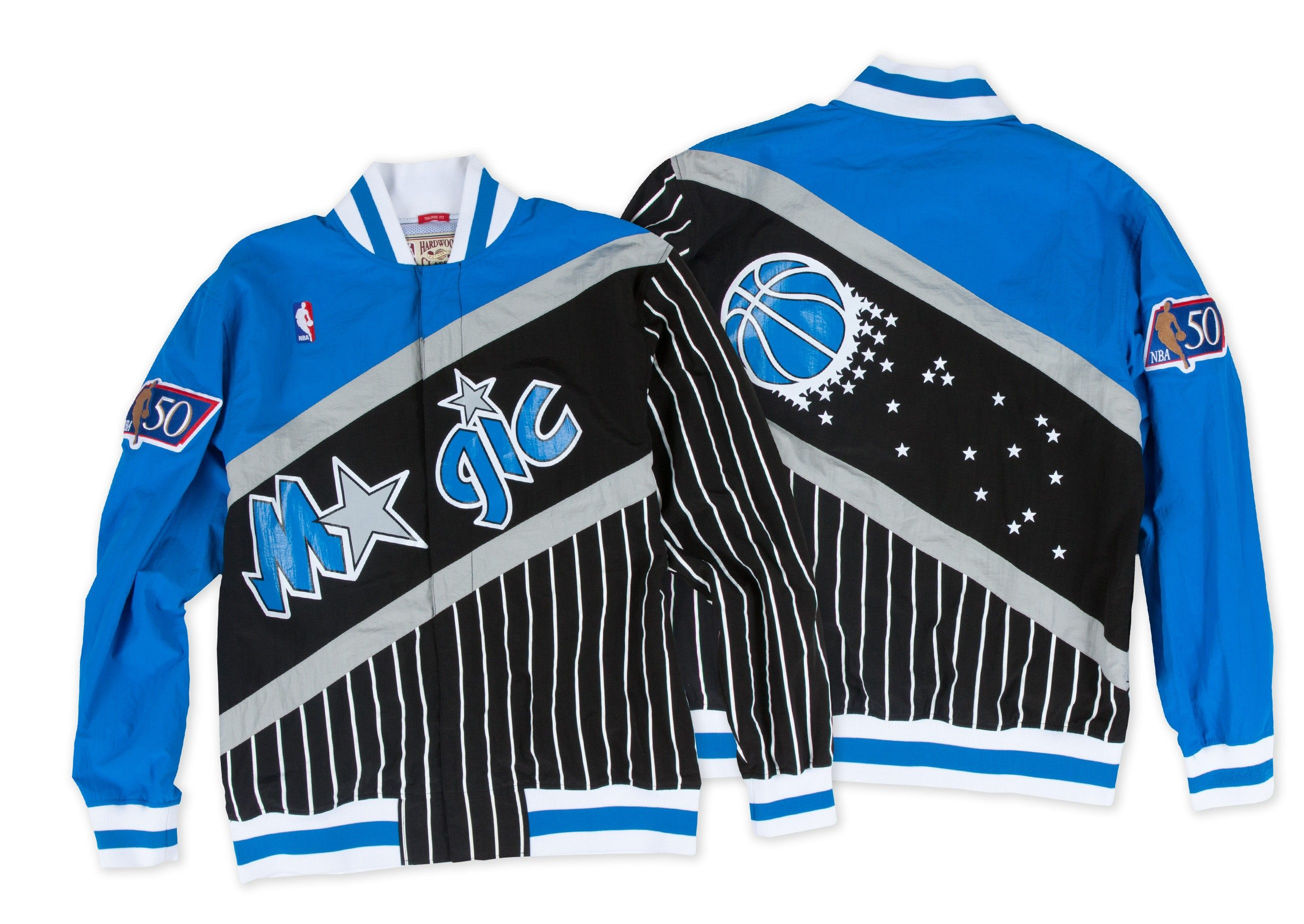 be67955f828 1996-97 Authentic Warm Up Jacket Orlando Magic - Shop Mitchell   Ness NBA  Outerwear and Jackets