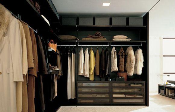 Poliform Ubik Inloopkast : Poliform closet walk in closet closet walk in wardrobe bedroom