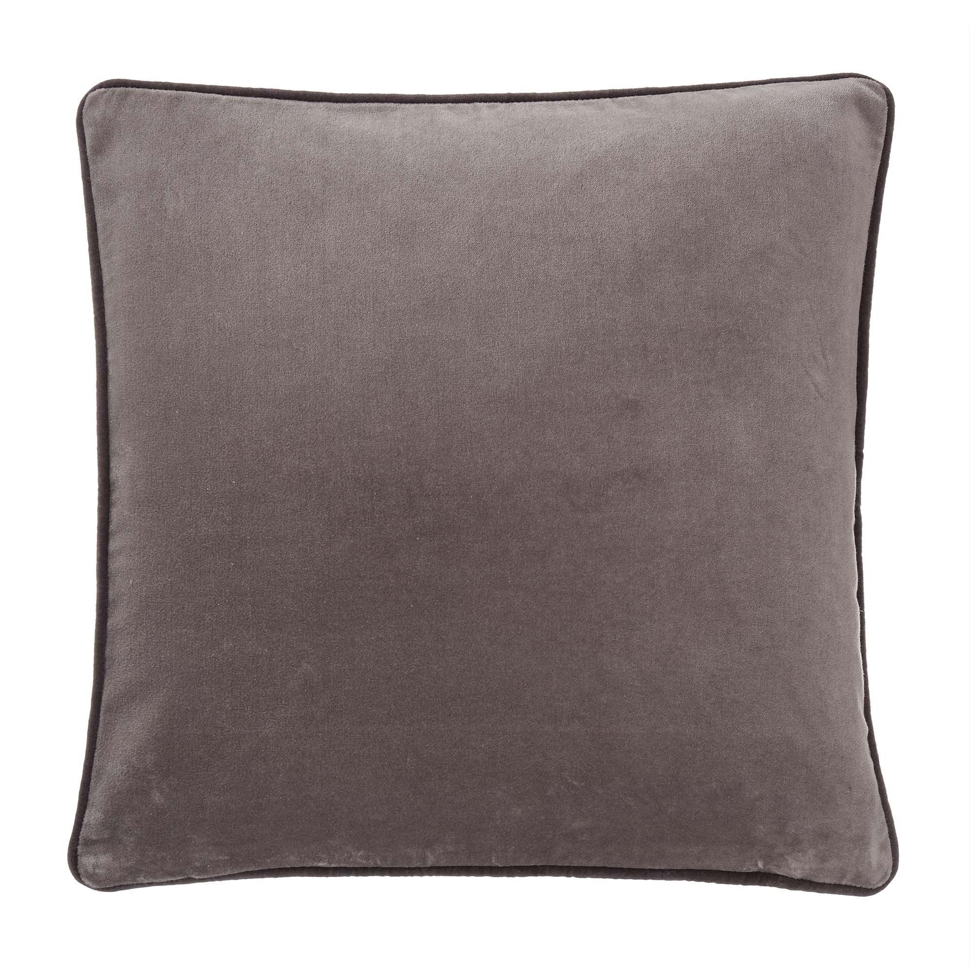 Kissenhulle Suri Grau Dunkelgrau 45x45 Cm Kissenhullen