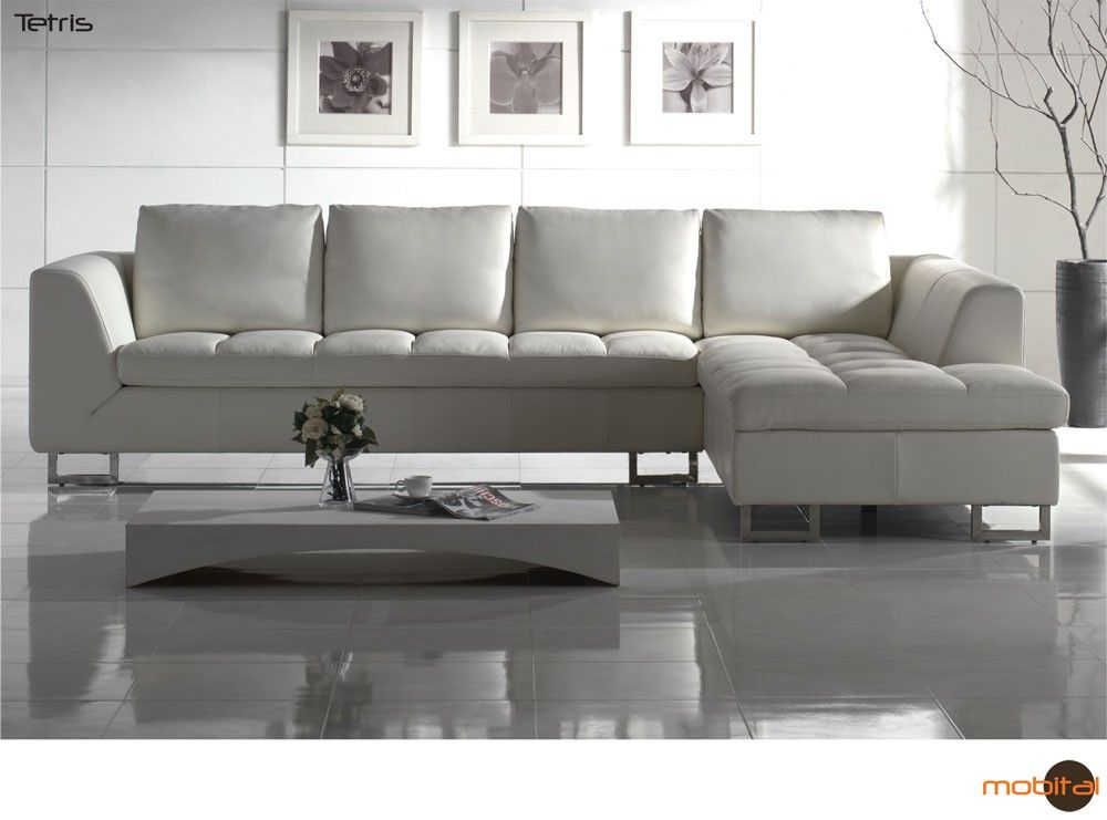 steal furniture poundex sofa white sectional a abela los leather outlet