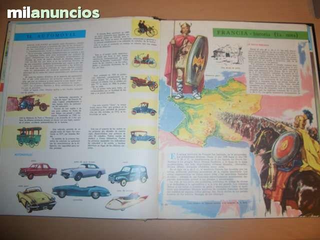 ENCICLOPEDIA ESTUDIANTIL AÑOS 60 - foto 3