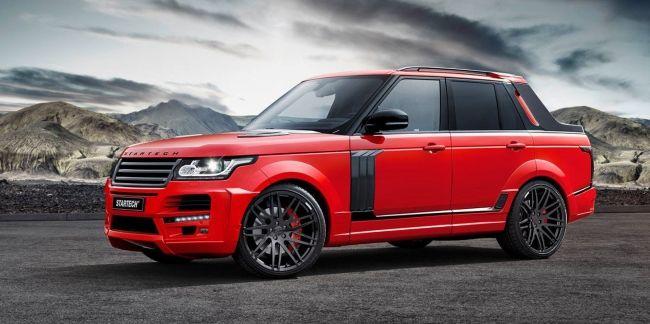 """Transforman una Range Rover en una """"pick-up"""" con 526 caballos!"""