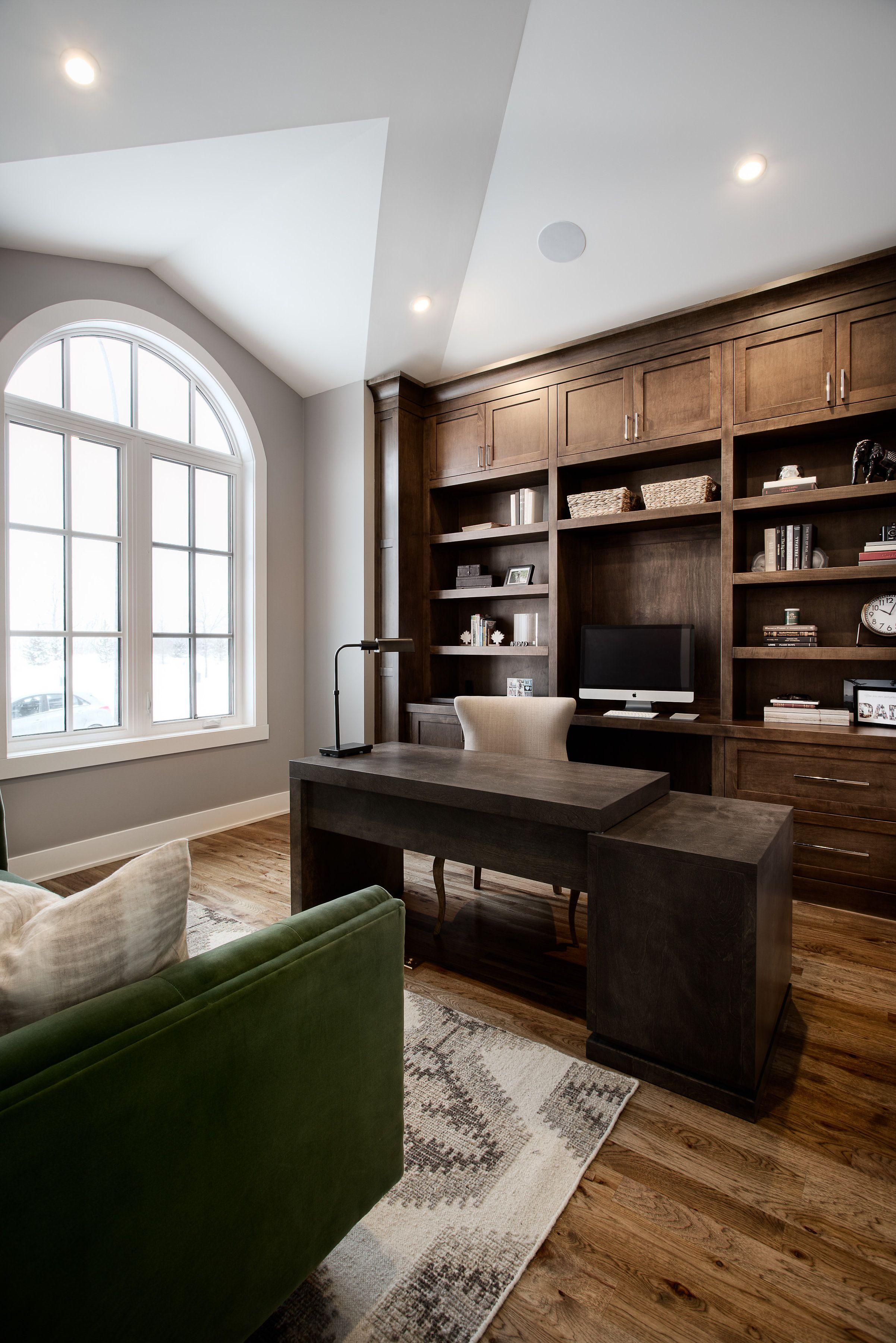 Varsity custom home office by veranda estate homes inc decor by nyla free design