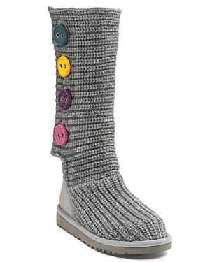 d7ffe7edeed UGG® Austrailia's Cardy crocheted boot gets in update in a taller ...