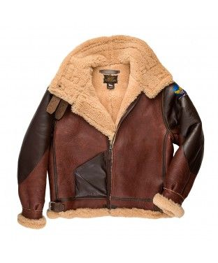 9611a9c96 100 Mission™ B-3 Bomber Jacket in 2019 | Shearling & Sheepskin ...
