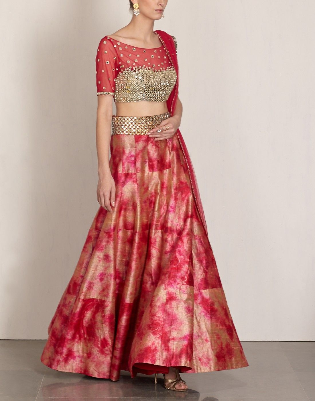Women fashion saree akansha gajria lehengas  womenus fashion  pinterest  indian