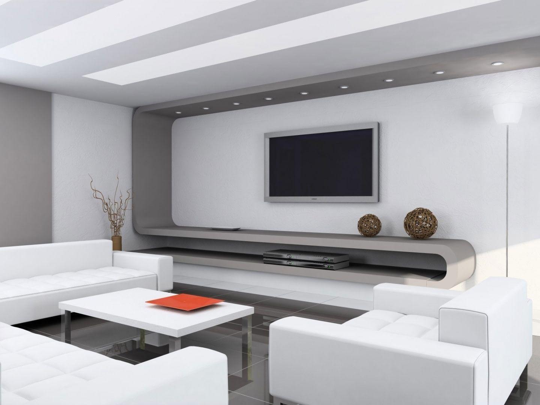 Comedor moderno blanco :: Imágenes y fotos | Salones | Salón moderno ...