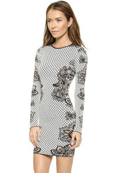 Amazing Design, Pattern, Long Sleeve Womens Dress M-L ( 16 Patterns)