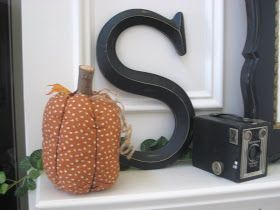 Savvy Chic Home: Fabric Pumpkins- Ohh the Options!
